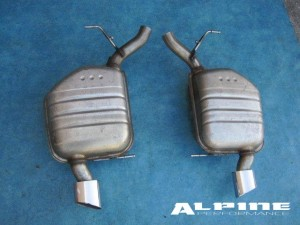 Bmw 645 E63 E64 Muffler Exhaust Tips 645