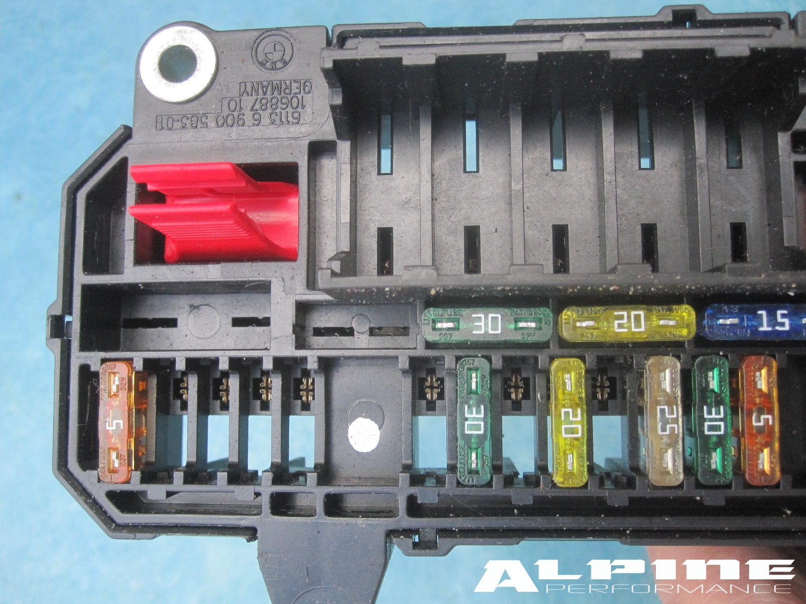 Fuse Box Bmw E65 : Origianal bmw power distribution fuse box trunk e