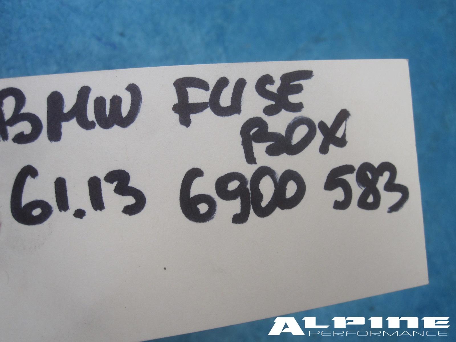 Origianal Bmw Power Distribution Fuse Box Trunk E65 E66 745i 750i B7 745li 750li 3500 1 In Stock