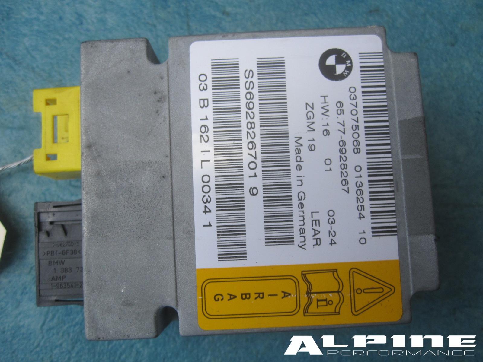 Origianal Bmw 745li 760 Airbag Central Gateway Module