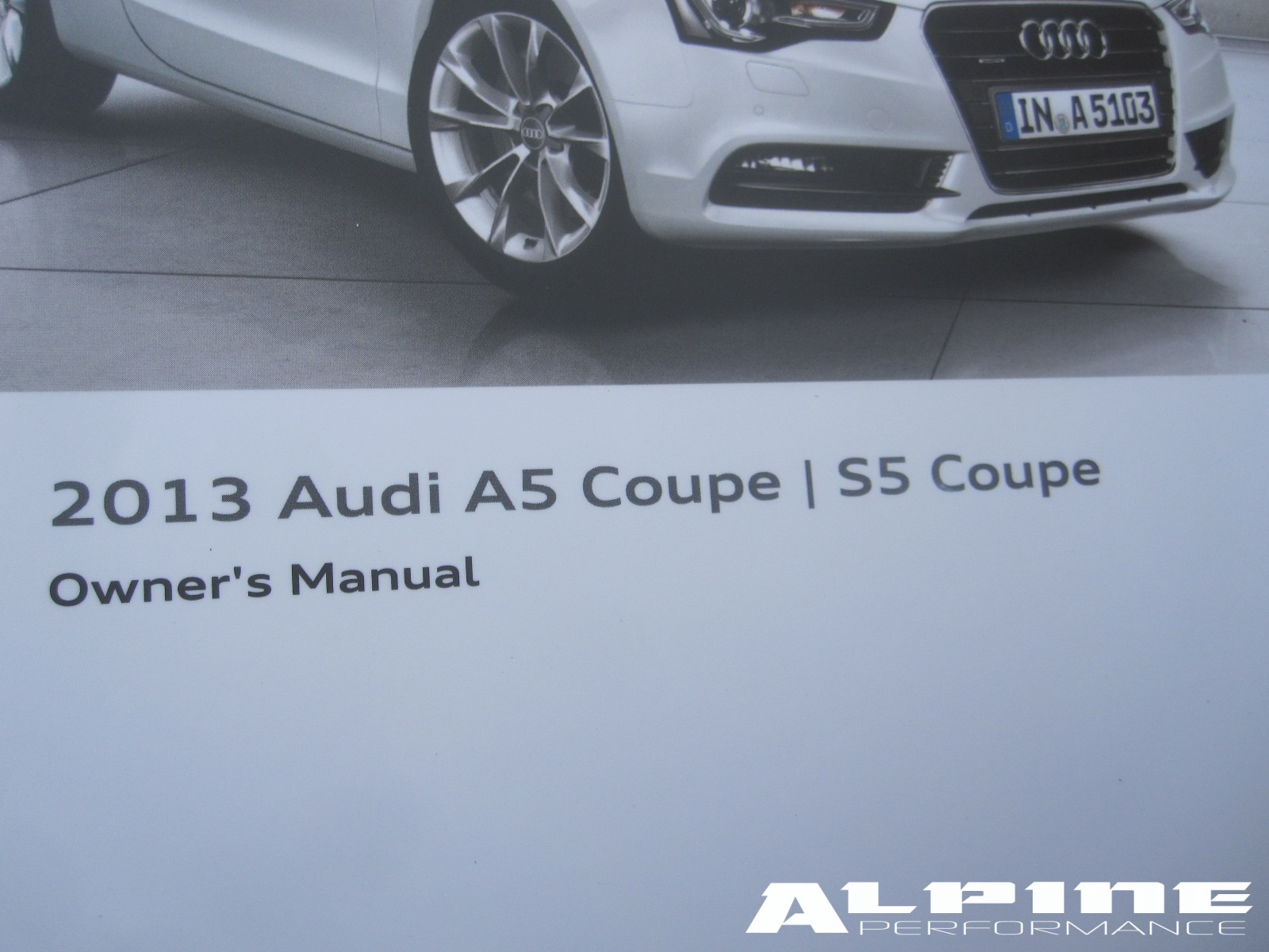 audi a5 owners manual
