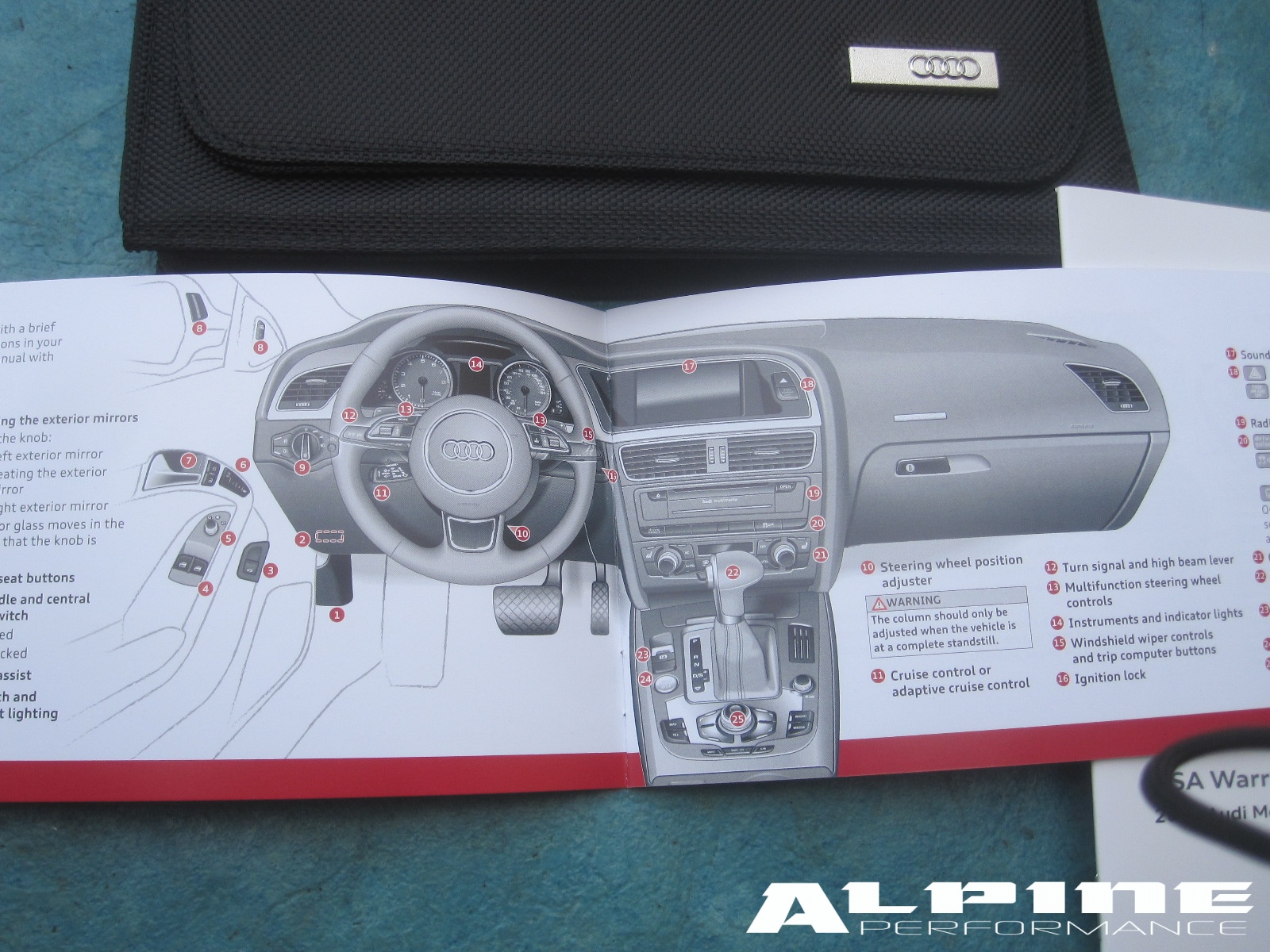 2013 audi a5 owners manual