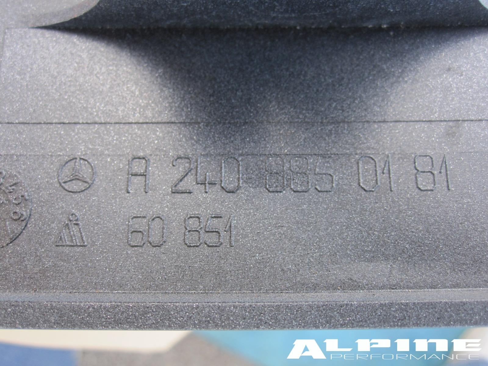 Origianal 03 06 Merecedes S Class S350 S430 S500 S600