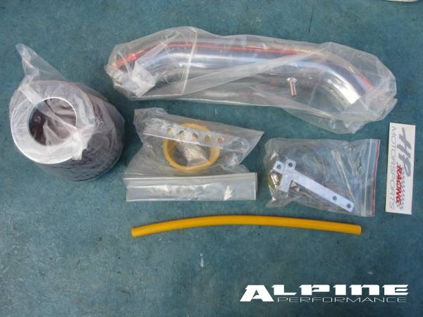 94 99 Acura Integra Chrome Cold Air Intake Piping Kit Filter