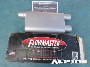 87 - 02 Chevy Camaro 80 Series Flowmaster Exhaust Dual Outlets