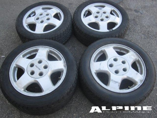 Origianal ACURA NSX WHEELS RIMS TIRES OEM OEM Parts - Acura oem wheels