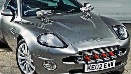 James Bond Supercar Prank