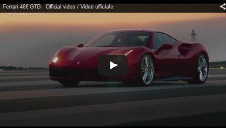 Ferrari 488 GTB Official video