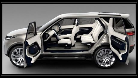 2016 Land Rover Discovery with Futuristic Technology