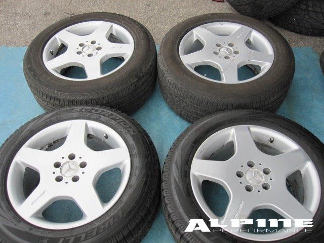 Origianal 18 mercedes ml55 amg ml500 ml320 ml r500 r for Mercedes benz ml320 tires