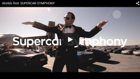 Worlds first SUPERCAR SYMPHONY