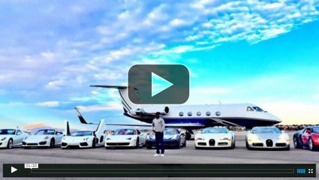 Inside look at Floyd Mayweather SuperCar Collection
