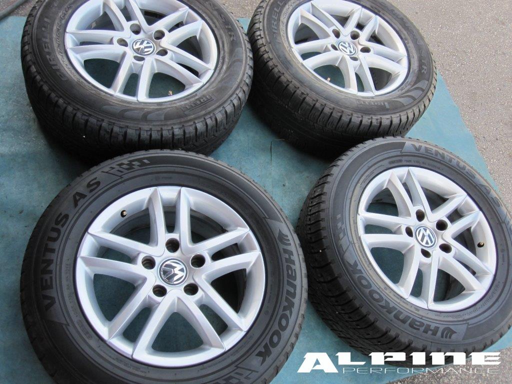 Origianal 17 Quot Vw Touareg Wheels Rims Tires Oem Parts