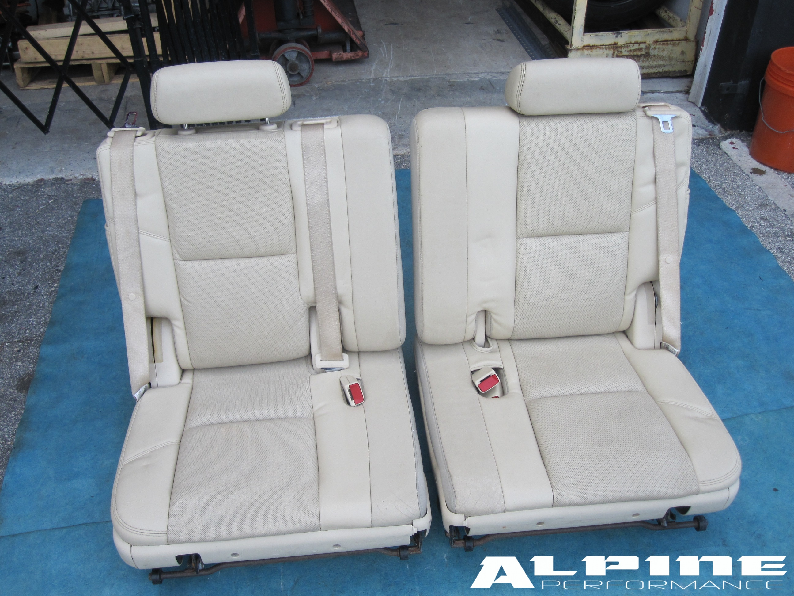 2005 Chevy Tahoe 3rd Row Seat Parts Velcromag