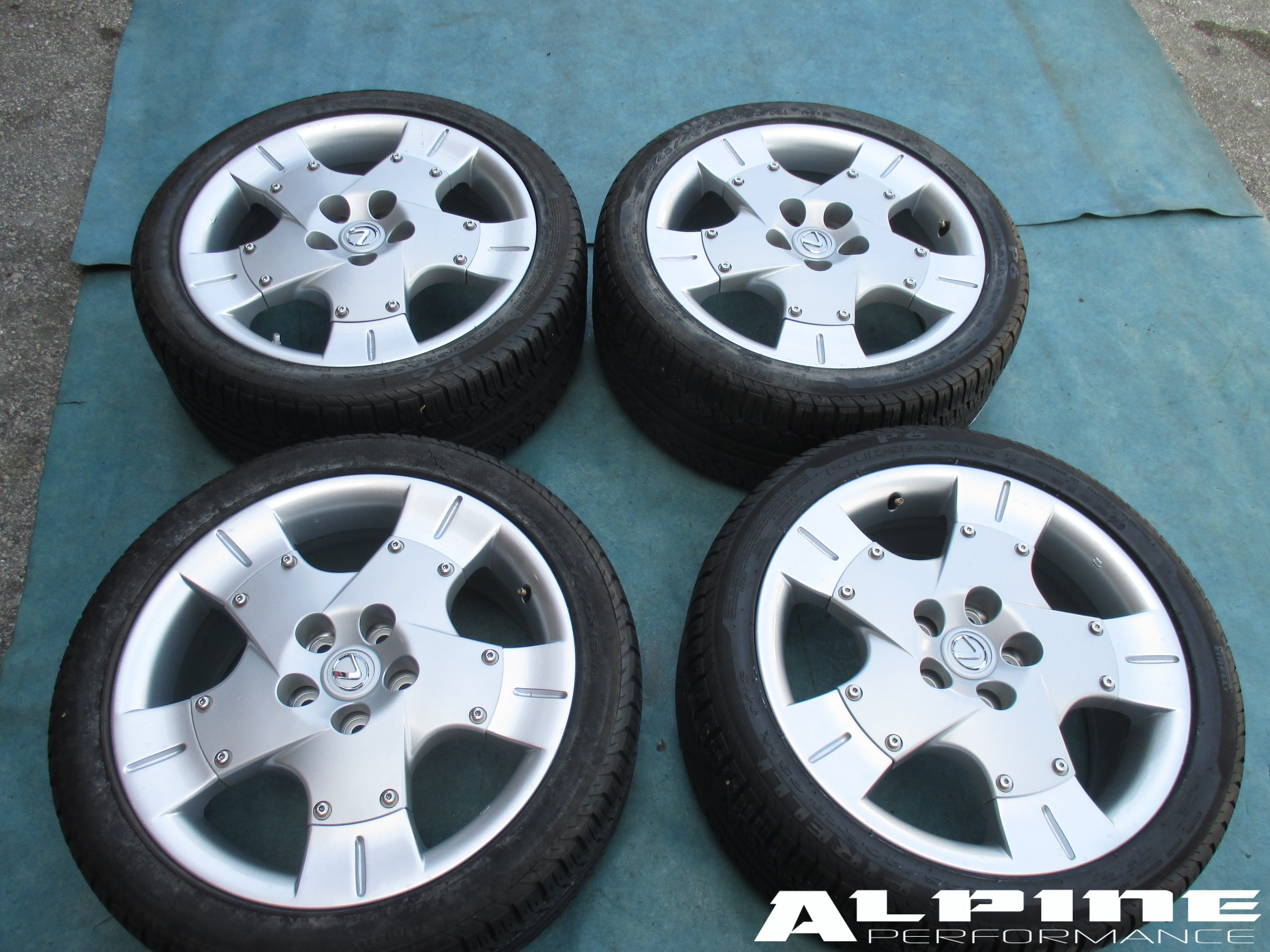 "Infiniti G35 Custom >> Origianal 18"" Lexus Sc Sc430 wheels rims tires - OEM parts"