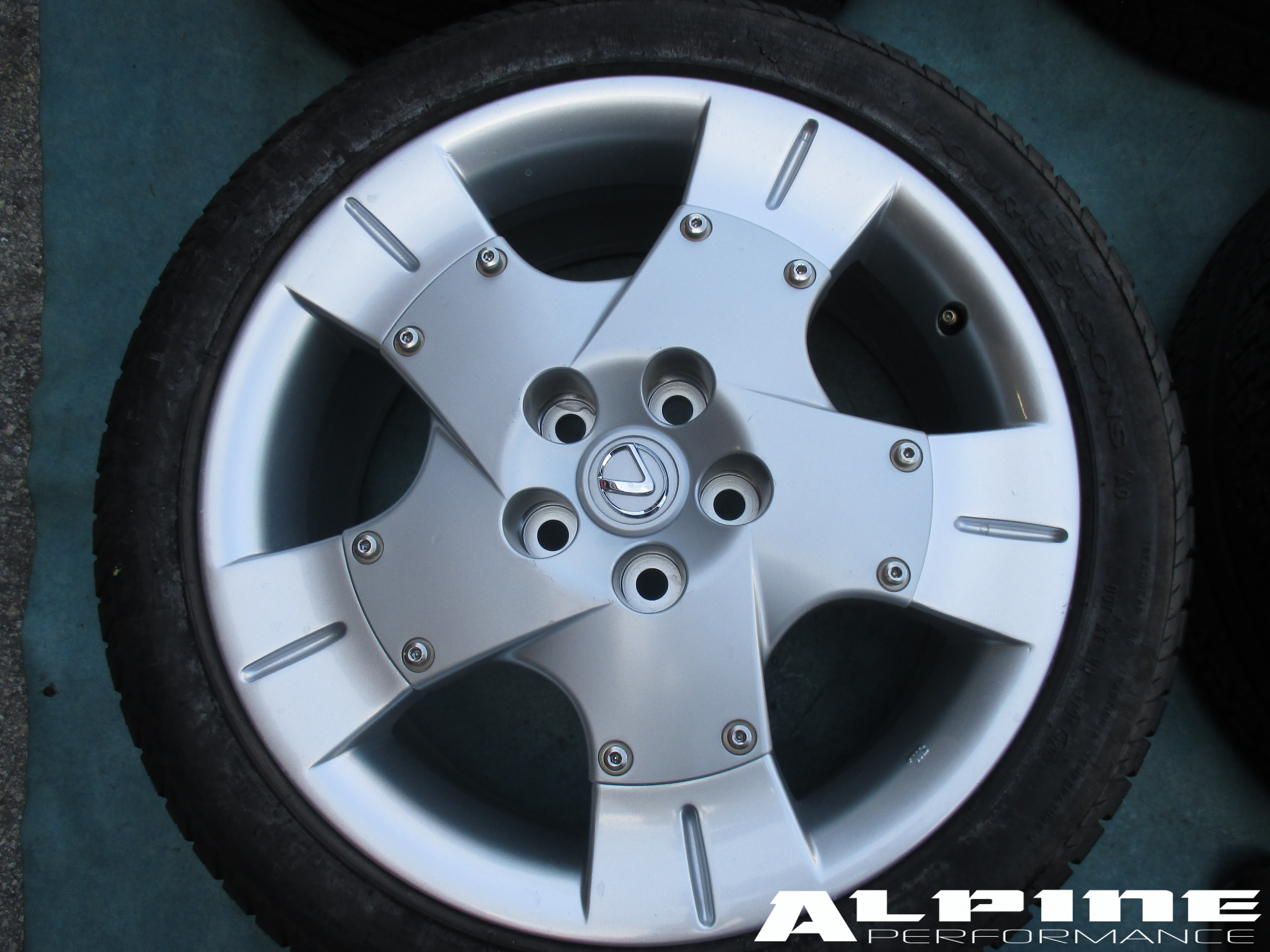 Origianal 18 Quot Lexus Sc Sc430 Wheels Rims Tires Oem Parts