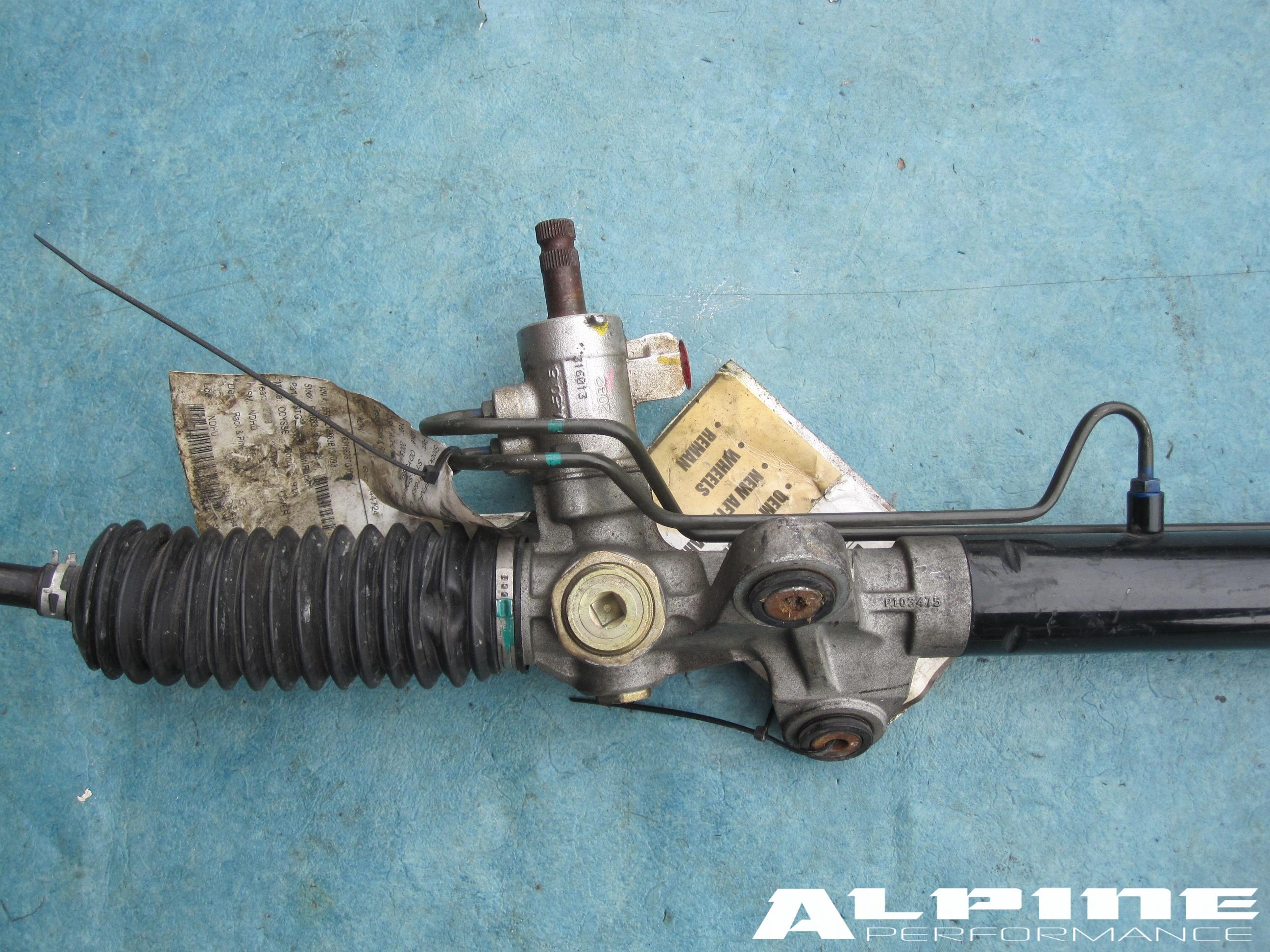 Origianal Honda Odyssey Rack And Pinion Oem Parts 2003 Headlight Wiring