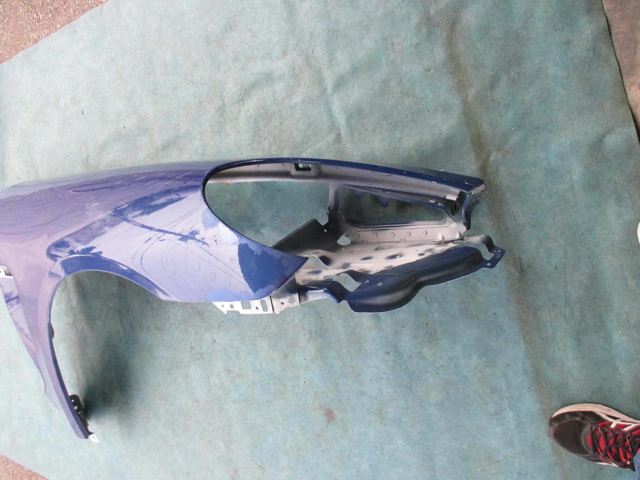 Origianal Porsche Panamera Right Fender Oem Parts