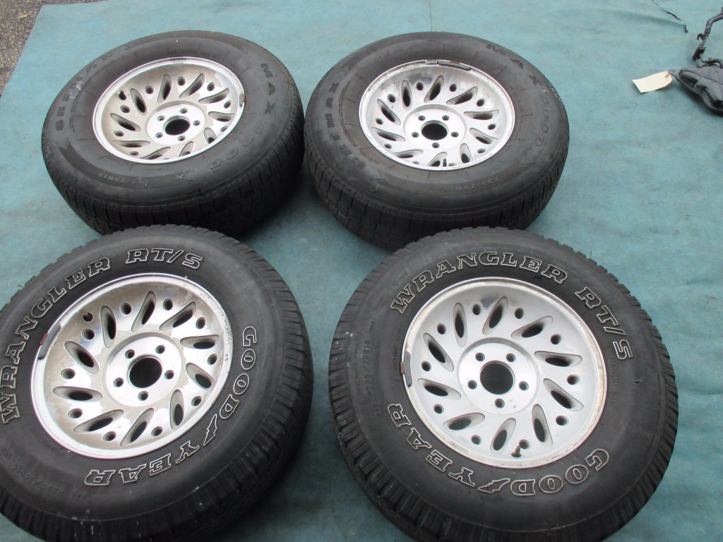 Used Ford Ranger Wheels : Origianal quot ford explorer ranger wheels rims tires oem