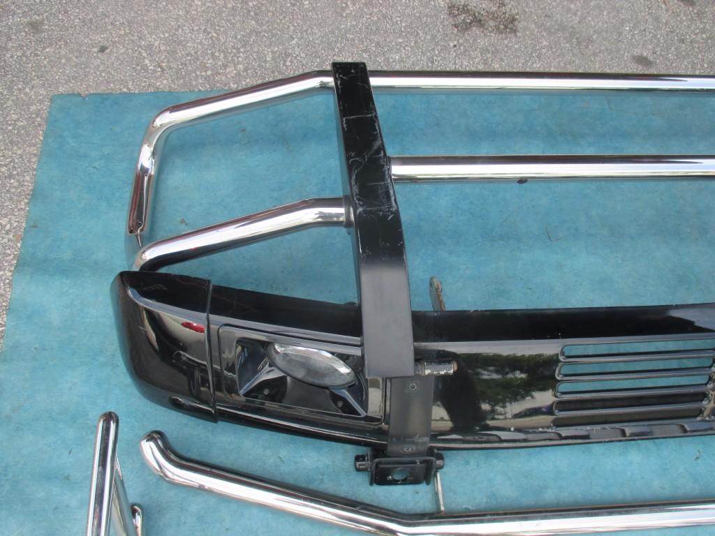 Origianal mercedes g wagon g500 g55 g550 amg front bumper for Mercedes benz g wagon parts