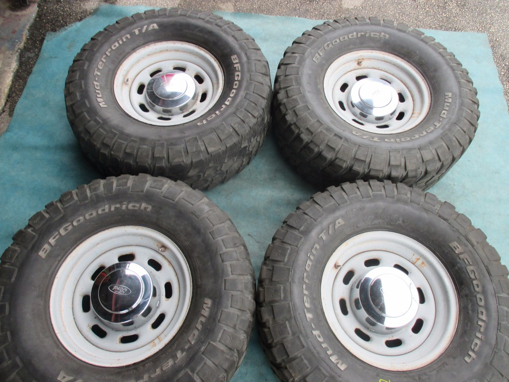 Ford Parts Wheels : Origianal quot ford f steel wheels rims tires