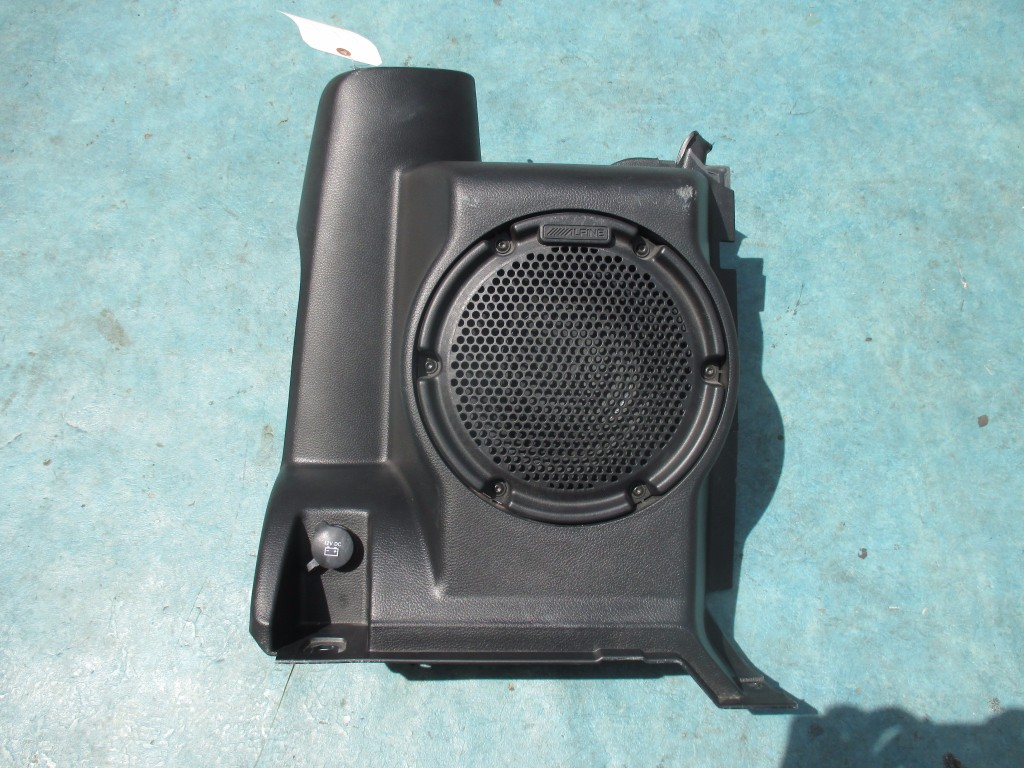 Origianal Jeep Wrangler Oem Alpine Subwoofer Box Oem Parts