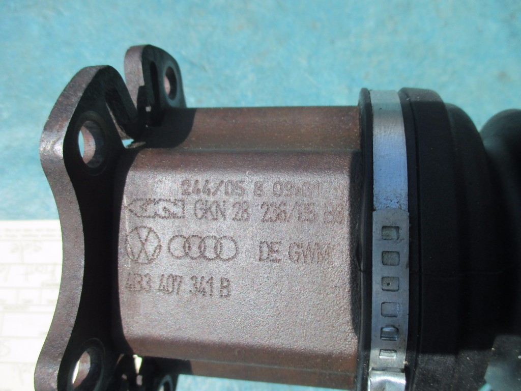 Audi A8 front left driver side axle shaft