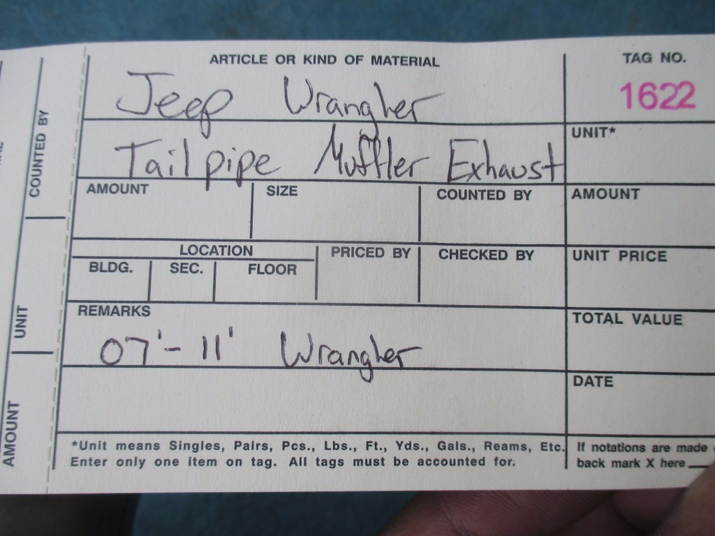 Origianal Jeep Wrangler Jk Sahara Complete Exhaust System