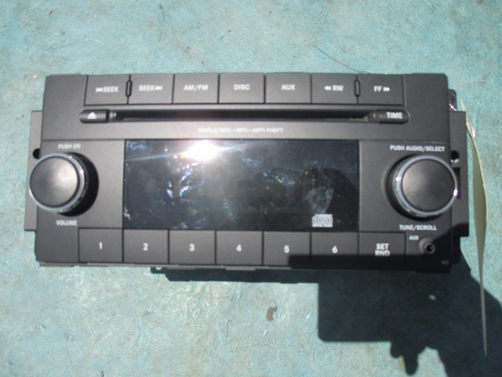 Origianal Jeep Wrangler Oem Radio Cd Mp3 Player Oem Parts