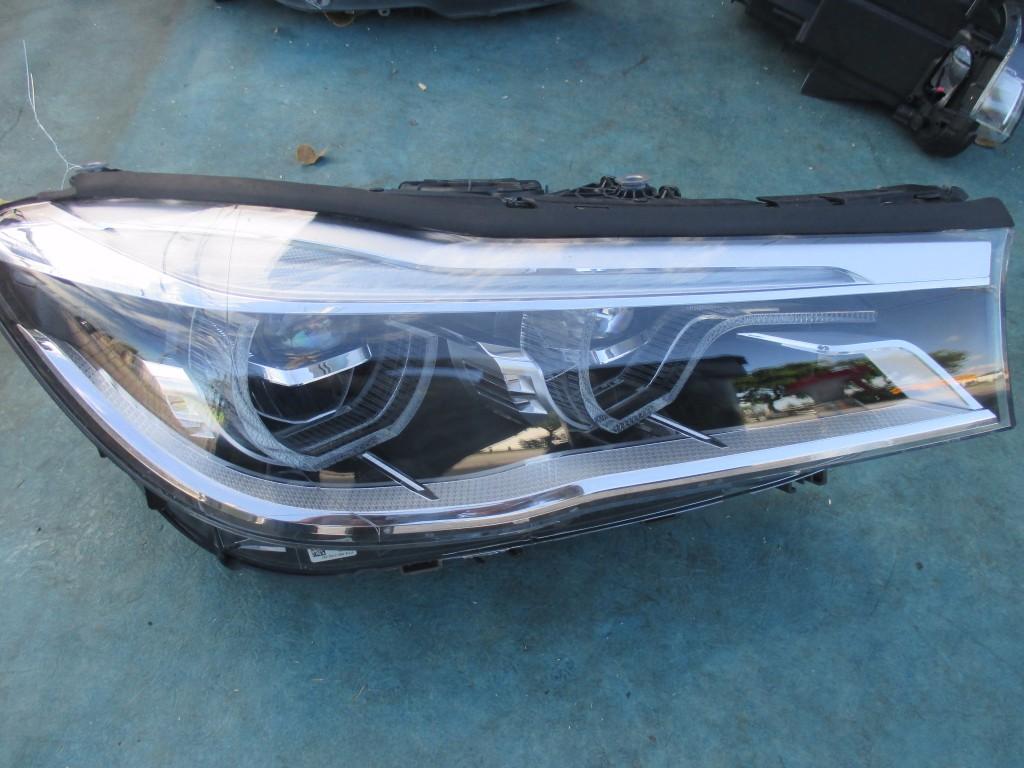 BMW 7 series 740i 750i right passenger side adaptive headlight head lamp