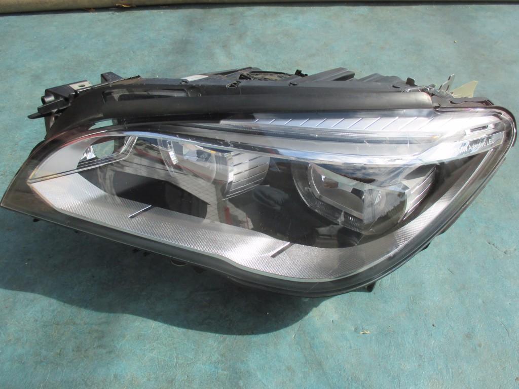 BMW 7 series left drivers side adaptive headlight head lamp