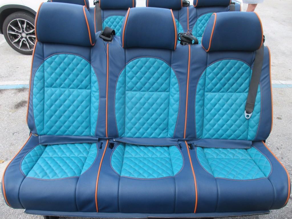 origianal mercedes benz sprinter van     row limo seats oem parts