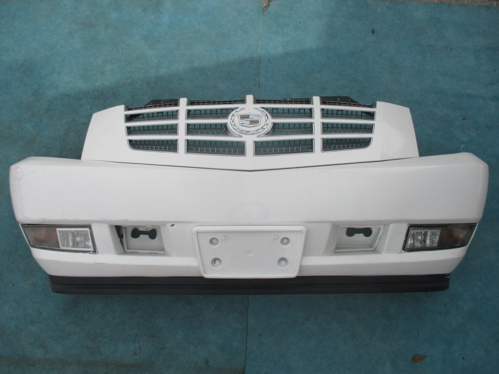 Cadillac Escalade front bumper with grille