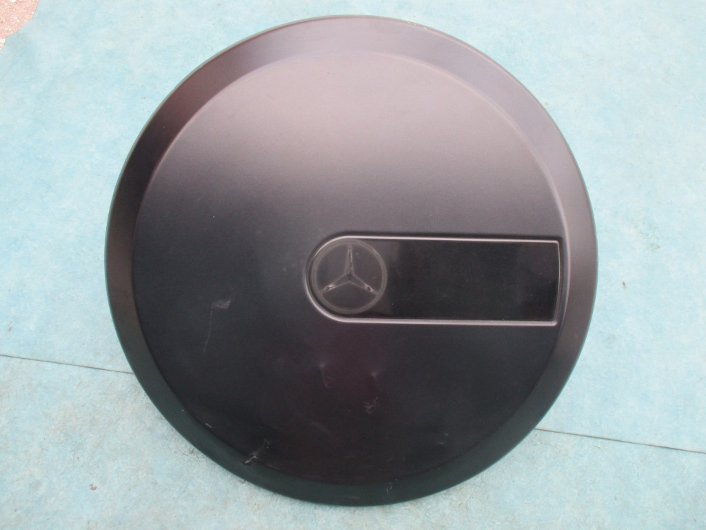 origianal mercedes benz  wagon     amg spare tire carrier cover oem parts