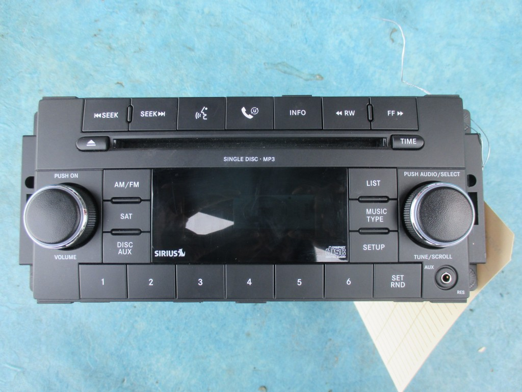 Dodge Ram 1500 Jeep Wrangler Chrysler Town & Country satellite radio mp3 cd  player #3742
