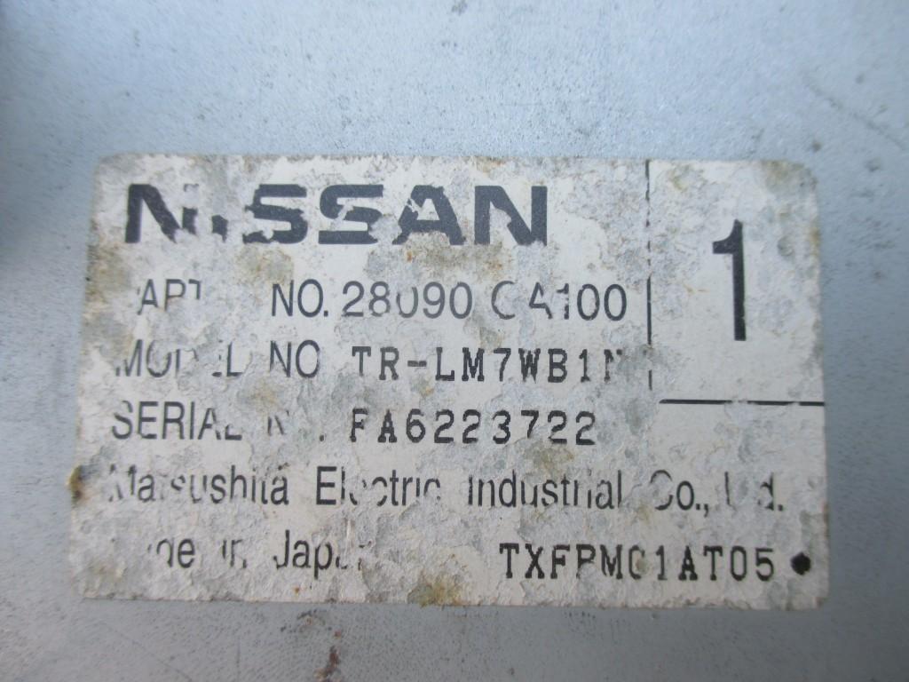 Nissan navigation Murano Maxima Titan information display tv screen #3791