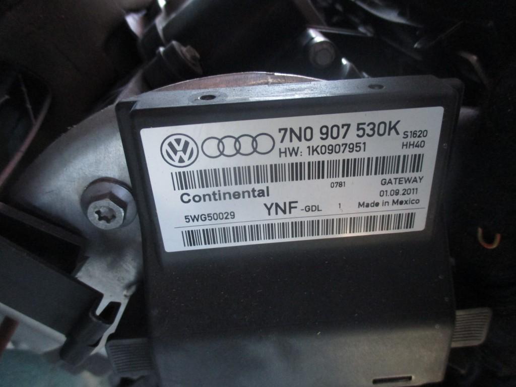 Origianal Vw Volkswagen Passat Dashboard Wire Harness 4599 Oem Parts Automotive Wiring Labels Condition