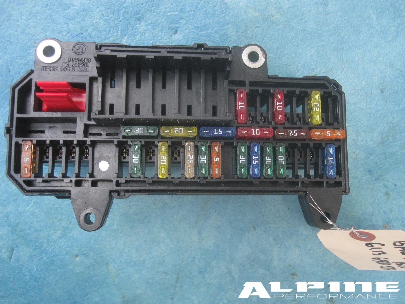 Origianal Bmw Power Distribution Fuse Box Trunk E65 E66 745i 750i B7 745li 750li