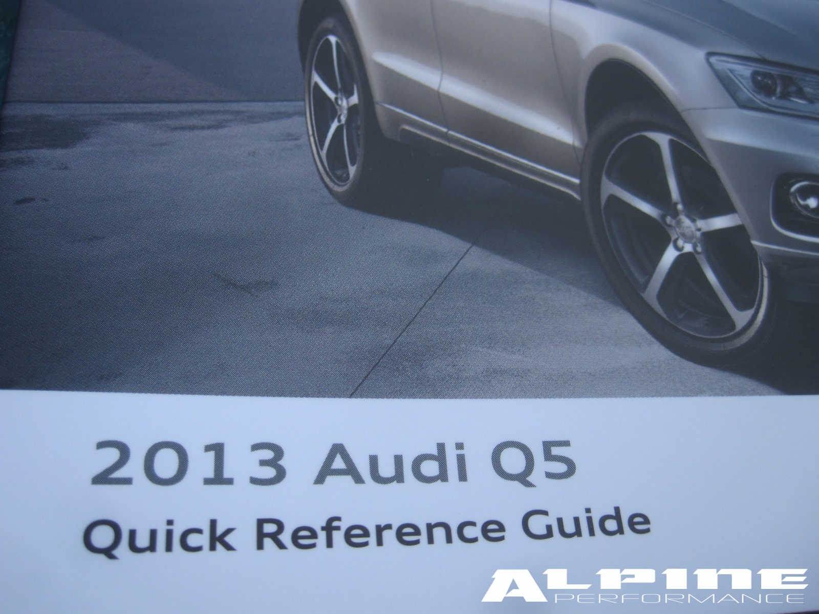 Audi Q5 user manual Pdf
