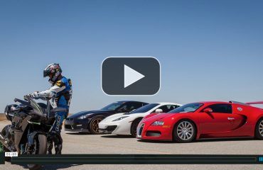 supercar vs superbike Mclauren Bugatti Ferrari