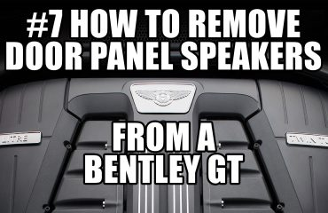 #7 REMOVE DOOR PANEL SPEAKERS