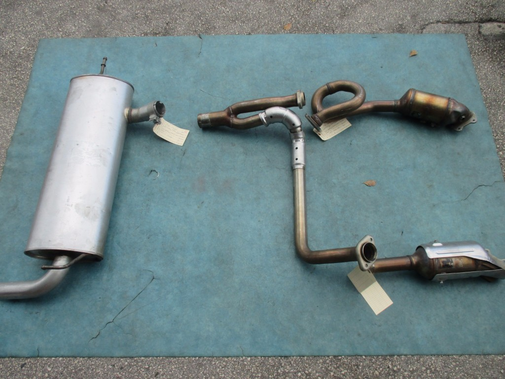 Nissan Oem Parts >> Origianal Jeep Wrangler JK Sahara complete exhaust system ...