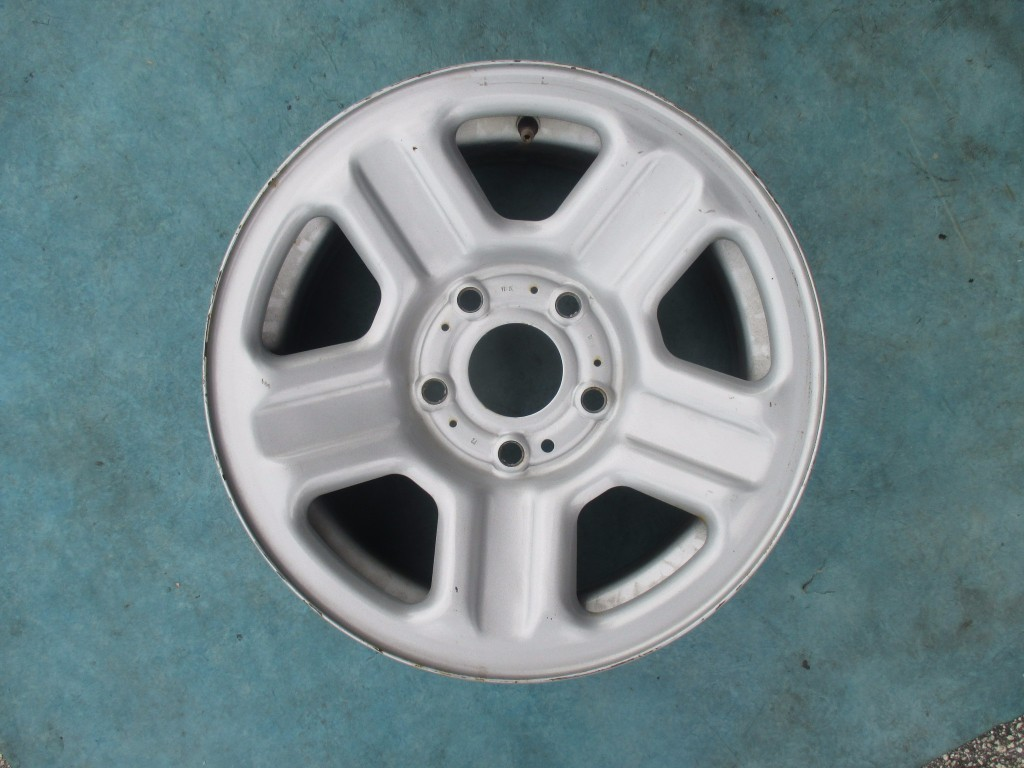 Origianal 16 Jeep Wrangler Painted Silver Steel Wheel Rim Spare Factory Parts Catalog