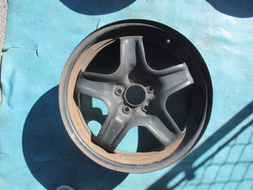 malibu steel rim wheel chevrolet chevy 2009 oem 2008